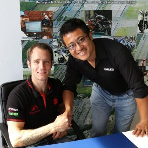 Tommy Bridewell and Daqi